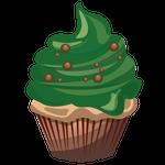 抹茶のカップケーキ