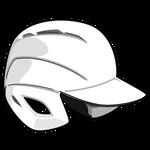 野球ヘルメット・白