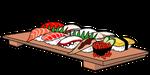 073寿司の盛り合わせ