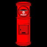 119_赤い丸ポスト