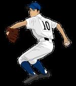 168野球イラスト投手