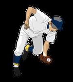 169野球イラスト.野手