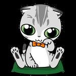 178可愛いスコの学業成就招き猫