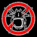 194害虫ストップマーク蜘蛛