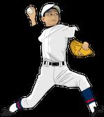 198野球イラスト少年ピッチャー