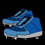 215野球青のスパイク