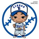 可愛い似顔絵野球少年4