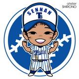 可愛い似顔絵野球少年6
