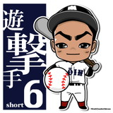 s136_かわいい似顔絵高校野球大阪桐蔭6