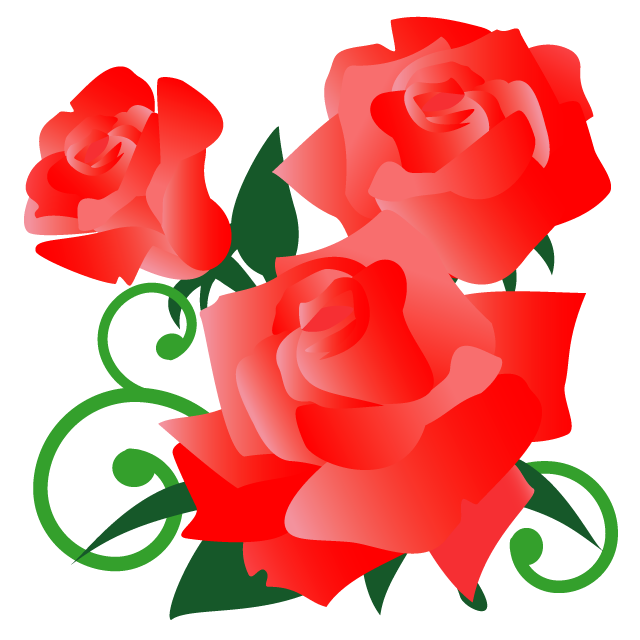 挿絵にピッタリの線なしイラスト 栃木県の花 Mirais