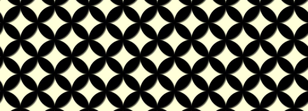 幾何学模様の和柄、七宝