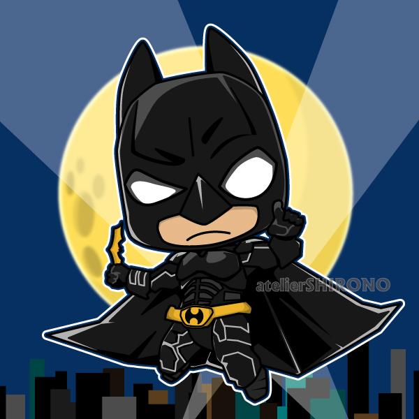 かわいいダークヒーロー_バットマン